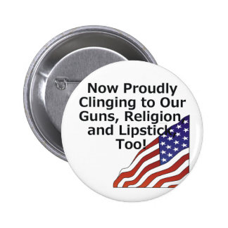TEE Proud American Button