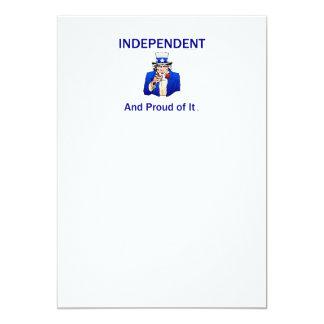 TEE Proud Independent Card