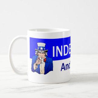 TEE Proud Independent Classic White Coffee Mug