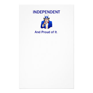 TEE Proud Independent Stationery