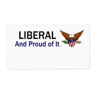 TEE Proud Liberal Label