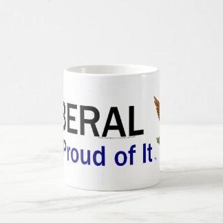 TEE Proud Liberal Classic White Coffee Mug