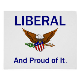 TEE Proud Liberal Poster