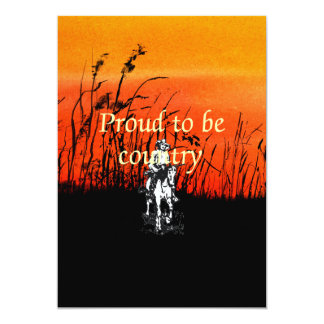 TEE Proud to be Country Card