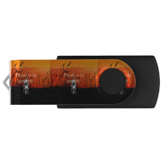 TEE Proud to be Country Flash Drive