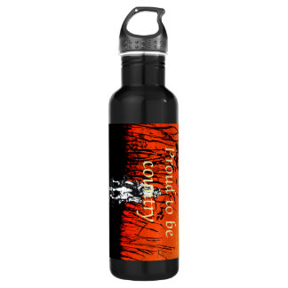TEE Proud to be Country Water Bottle