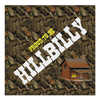 TEE Proud to be Hillbilly Poster