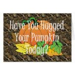 TEE Pumpkin Hug Card