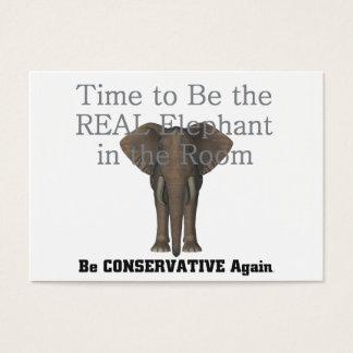 TEE Real Elephant Business Card