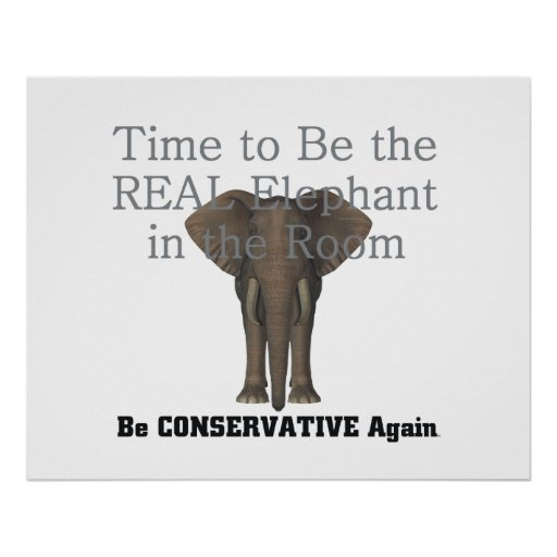 TEE Real Elephant Poster