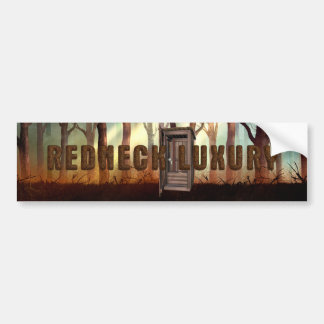 TEE Redneck Luxury Bumper Sticker