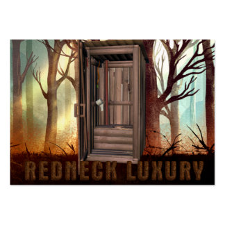 TEE Redneck Luxury Large Business Cards (Pack Of 100)