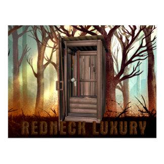 TEE Redneck Luxury Postcard
