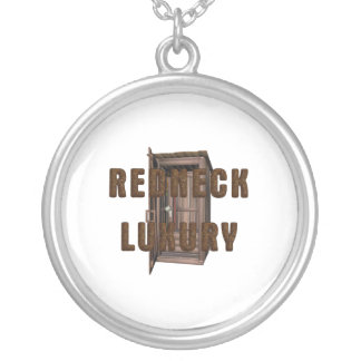 TEE Redneck Luxury Silver Plated Necklace