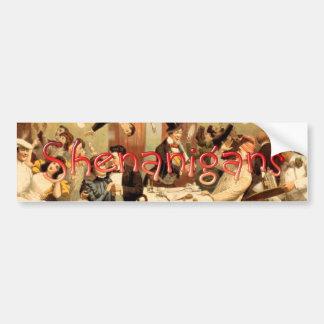 TEE Restaurant Shenanigans Bumper Sticker
