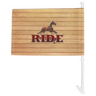 TEE Ride Car Flag