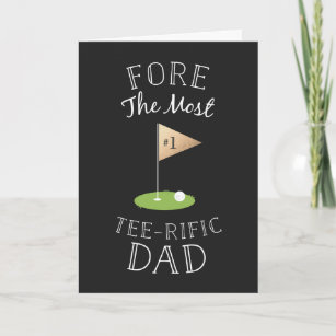Tee-rific Father's Day Card