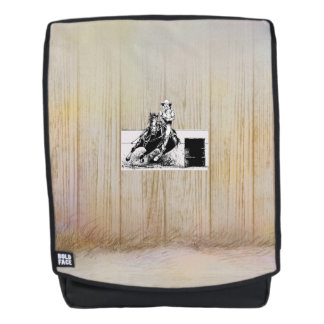 TEE Rodeo Cowgirl Backpack