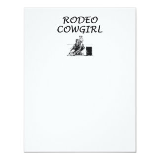 TEE Rodeo Cowgirl Card