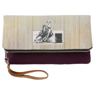 TEE Rodeo Cowgirl Clutch