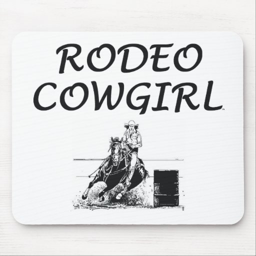 TEE Rodeo Cowgirl Mouse Pad