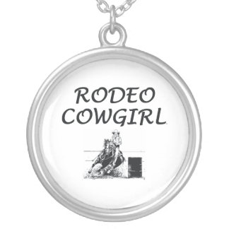 TEE Rodeo Cowgirl Personalized Necklace