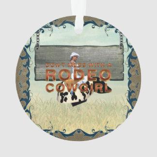 TEE Rodeo Cowgirl Slogan