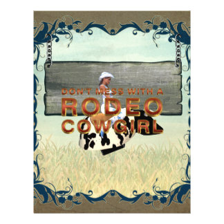 TEE Rodeo Cowgirl Slogan Flyer