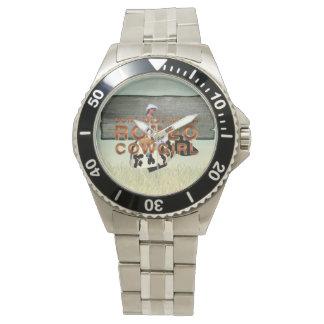 TEE Rodeo Cowgirl Slogan Wristwatch