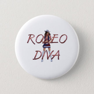 TEE Rodeo Diva Button