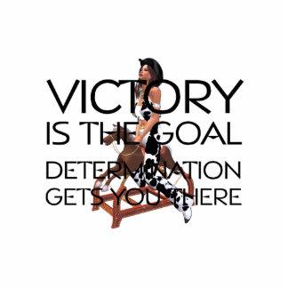 TEE Rodeo Victory Slogan Cutout