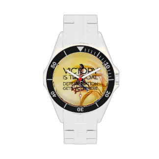 TEE Rodeo Victory Slogan Wrist Watches