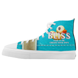 TEE Rubber Ducky Bliss High-Top Sneakers