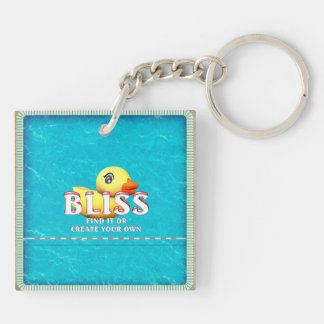 TEE Rubber Ducky Bliss Keychain