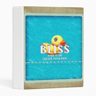 TEE Rubber Ducky Bliss Mini Binder