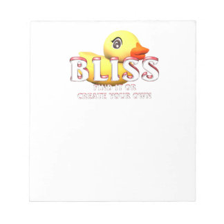 TEE Rubber Ducky Bliss Notepad