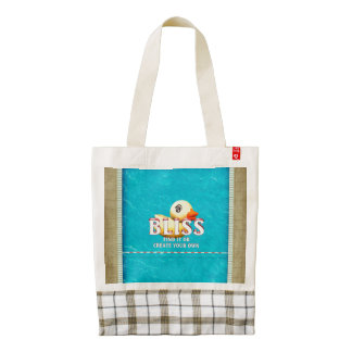 TEE Rubber Ducky Bliss Zazzle HEART Tote Bag