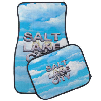 TEE Salt Lake City Car Floor Mat