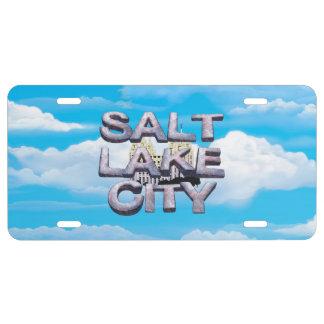 TEE Salt Lake City License Plate