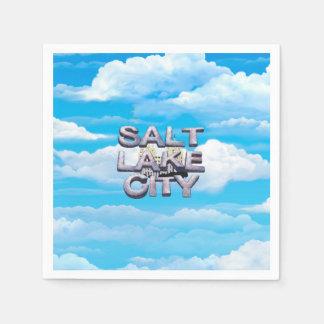 TEE Salt Lake City Paper Napkin