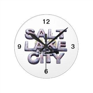 TEE Salt Lake City Round Clock