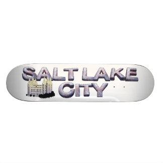 TEE Salt Lake City Skateboard Deck