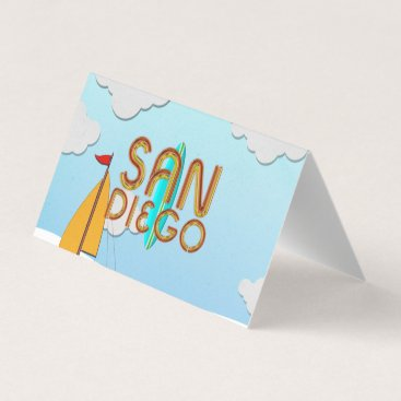 Professional Business TEE San Diego Business Card