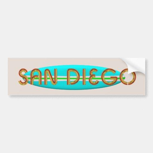 TEE San Diego Car Bumper Sticker