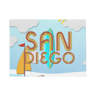 TEE San Diego Doormat