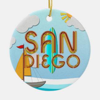 TEE San Diego Ornaments