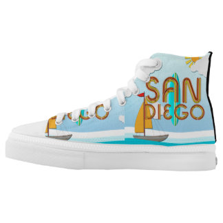 TEE San Diego Printed Shoes