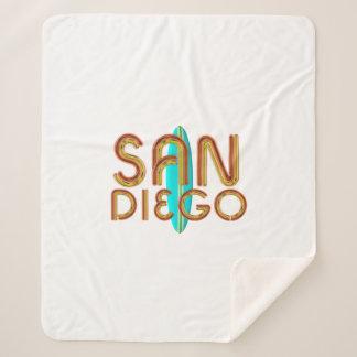 TEE San Diego Sherpa Blanket