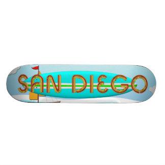 TEE San Diego Skateboard Deck