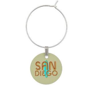 TEE San Diego Wine Charm